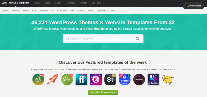 themeforest trouver theme